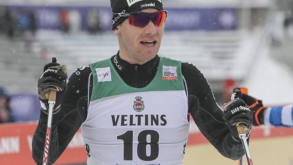 Das Staffel-Rennen der Männer in Lahti findet ohne Toni Livers statt