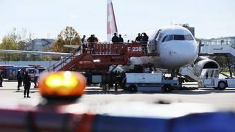 Geiselnahme am Flughafen Zürich
