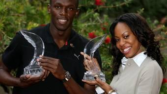 Usain Bolt und Sanya Richards
