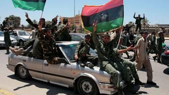 Die Rebellen sind militärisch wieder im Aufwind