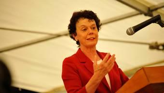 Volkswirtschaftsdirektorin Esther Gassler: Unter ihrer Federführung ist das neue Gesetz über den Finanz- und Lastenausgleich erarbeitet worden.