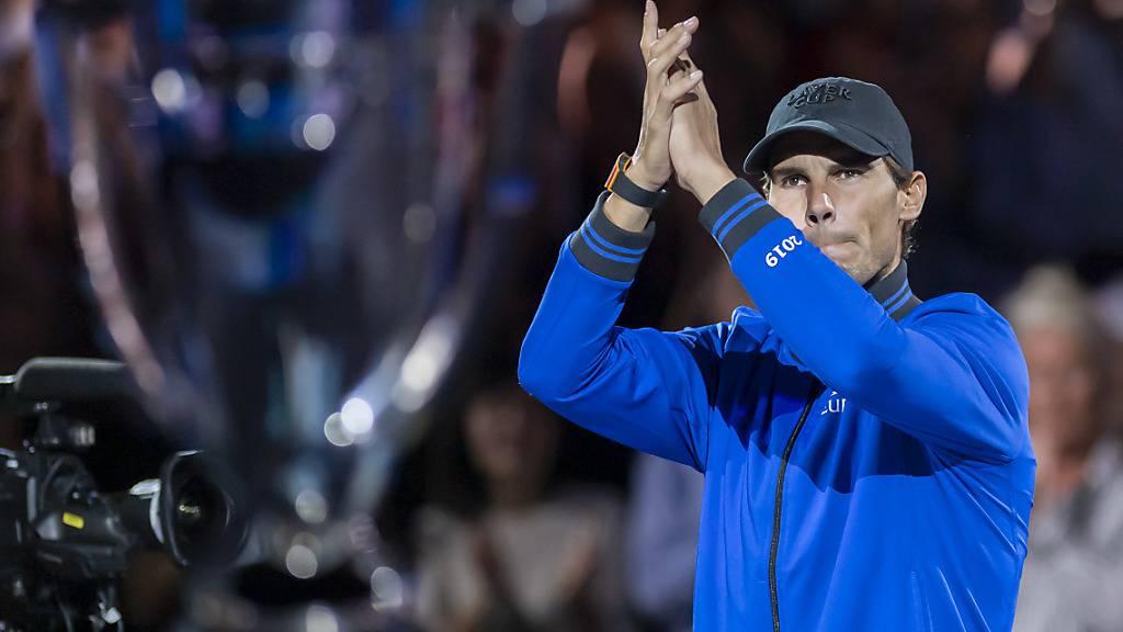 Rafael Nadal sagte seine Teilnahme am Turnier in Schanghai ab