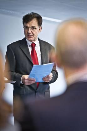 Beat Frey, Direktor und Chefarzt der Blutspende Zürich
