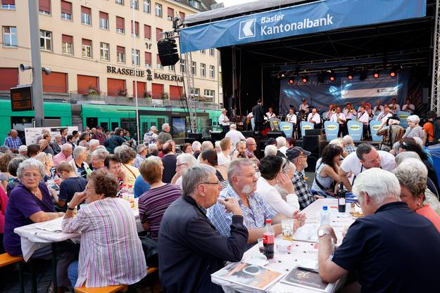 «Georgie's Big Band» am Marktplatz