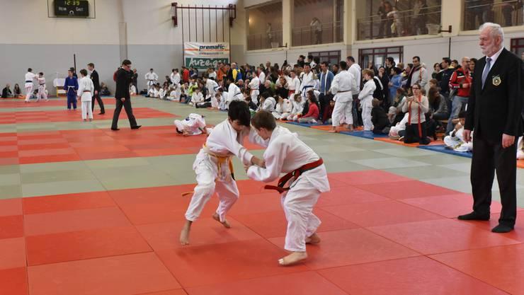 Heuer lockte das Schülerturnier des Judo Kwai Oensingen rund 300 Kämpfer und über 500 Zuschauer an.