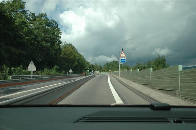 Von Osten her: Autobahnzubringer T5