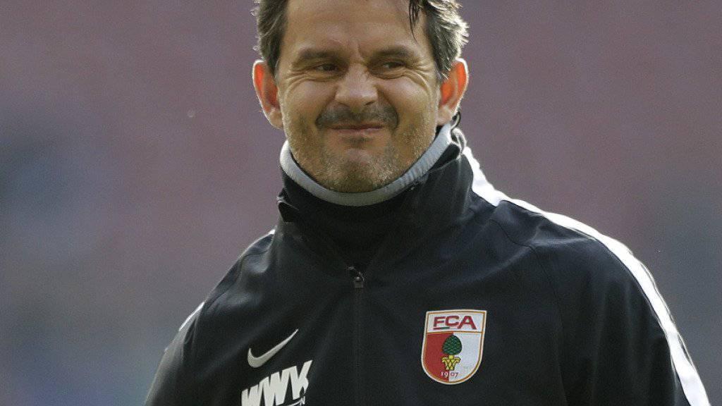 Dirk Schuster wurde in Augsburg wegen «unterschiedlicher Auffassungen» per sofort freigestellt