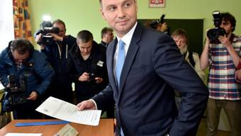 Der rechtskonservative Oppositionskandidat Andrzej Duda