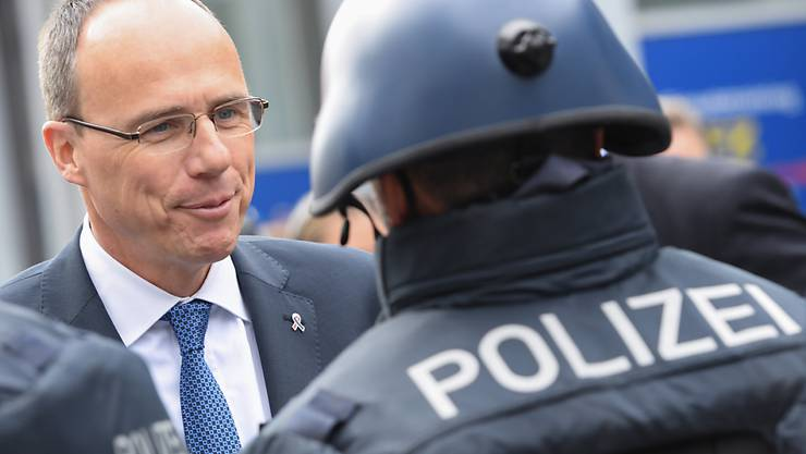 ARCHIV - Der hessische Innenminister Peter Beuth (CDU). Foto: Arne Dedert/dpa