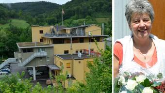 Die Liegenschaft von Landratspräsidentin Daniela Gaugler an der Kanalstrasse 17 in Lausen beherbergt Firmen und Wohnungen.