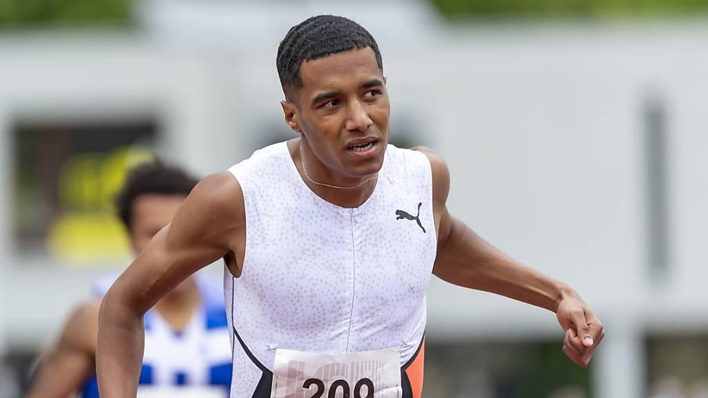 William Reais war an der U23-EM über 200 m eine Klasse für sich