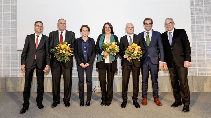 Die neue Basler Regierung.