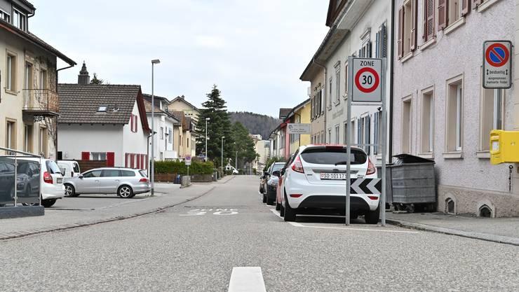 Auf der Freien Strasse – nahe der Einfahrt zur Baslerstrasse – soll ein Betonelement platziert werden.