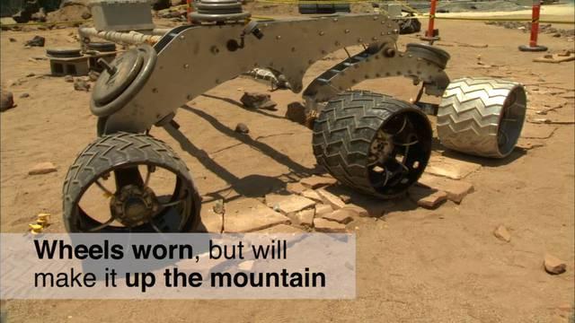 Nasa-Video über die Mars-Mission des Curiosity-Rovers