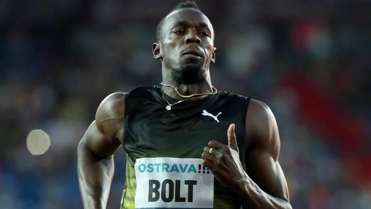 Usain Bolt lief erstmals wieder seit Ostrava ein Rennen und blieb in Monte Carlo über 100 m unter 10 Sekunden