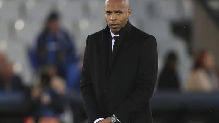 Nach hat Thierry Henry als Trainer von Monaco wenig Grund zur Freude