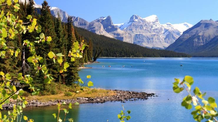 In Kanada hat es rund 2 Millionen Seen.