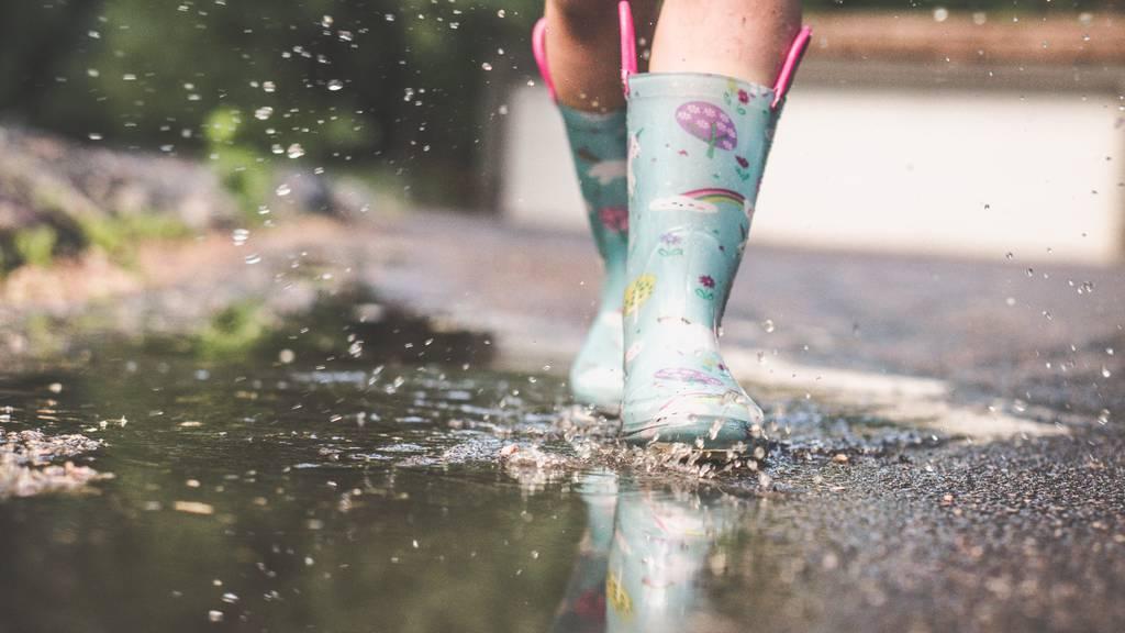 Regen - Gummstiefel