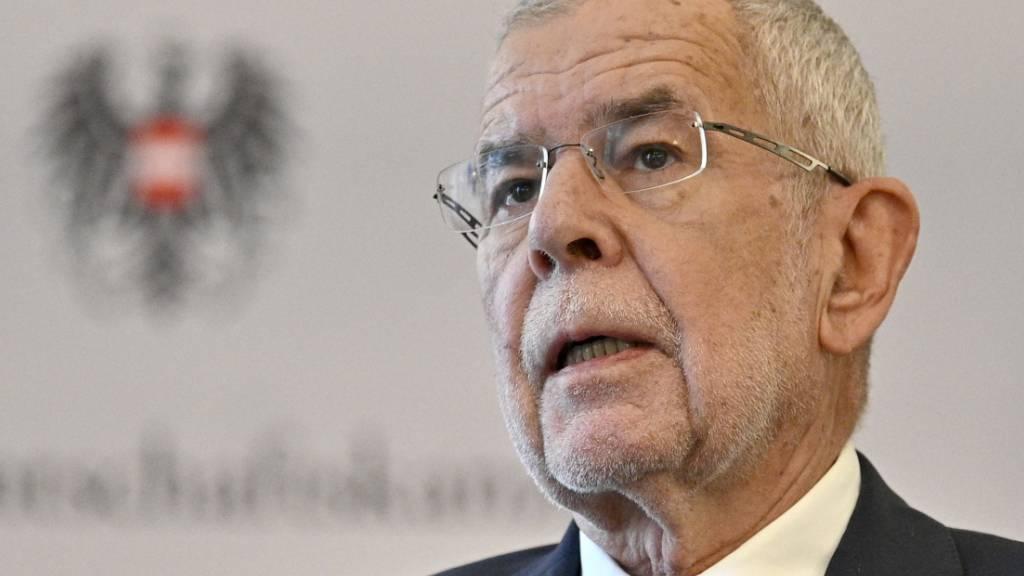 FILED - Österreichs Bundespräsident Alexander Van der Bellen soll vor den Ibiza-Untersuchungsausschuss geladen werden - wenn es nach der FPÖ geht. Photo: Hans Punz/APA/dpa