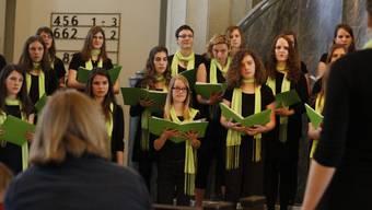 Konzert des Solothurner Mädchenchors mit Frauen- und Favoritensemble