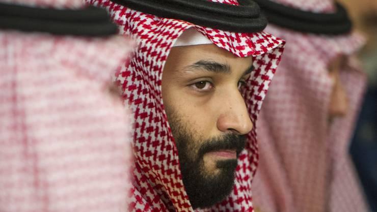 """""""Palästinenser und Israelis haben das Recht auf ihr eigenes Land"""": der saudiarabische Kronprinz Mohammed bin Salman. (Archivbild)"""