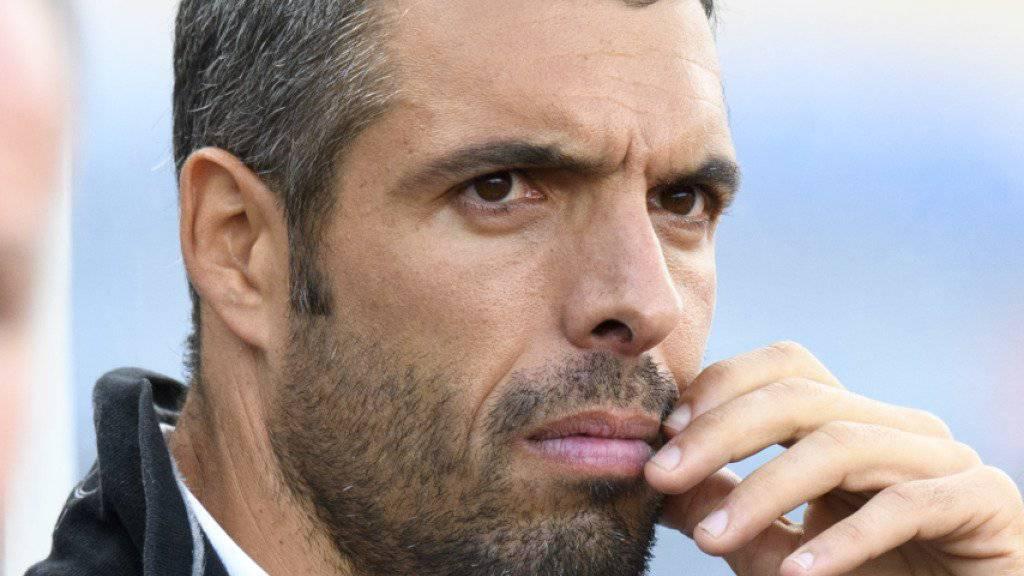 Ist mit Lausanne-Sport auf einem sehr guten Weg: Trainer Fabio Celestini