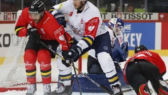 Der SC Bern zieht in der Champions Hockey League erneut in die Viertelfinals ein