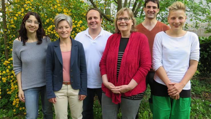Der Vorstand des WWF Kanton Solothurn (von links): Tanja Regez, Barbara Meister, Christoph Baumann (Geschäftsführer), Elsbeth Wirth (Präsidentin), Daniel Felder, Helen Amberg (es fehlen Susan von Sury, Silvia Guldimann, Michael Ochsenbein und Renate Engesser).