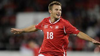 Haris Seferovic schoss in der 15. Minute das 1:0 in Kroatien.