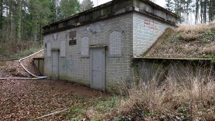 Das alte Wasserreservoir in Schönenwerd hat seinen Dienst getan.