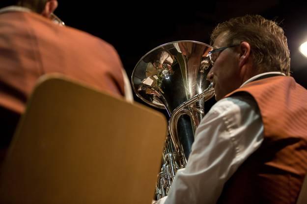 Die Musikgesellschaft Messen sorgte gekonnt für das Musikalische Rahmenprogramm.