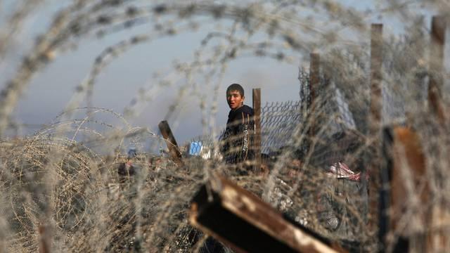 Grenzzaun zwischen Ägypten und dem Gazastreifen (Archiv)