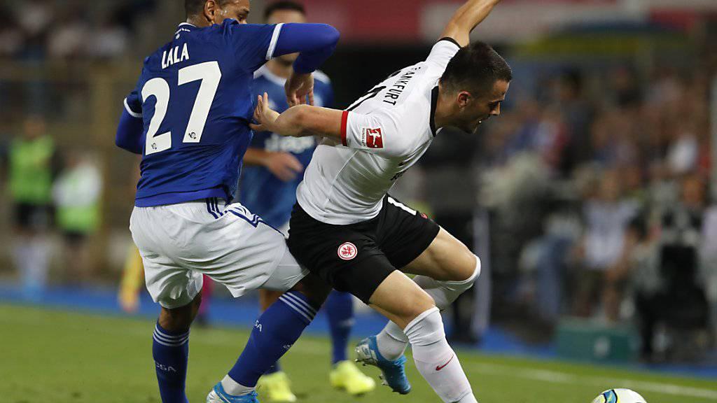 Eintracht Frankfurt verliert in Strassburg
