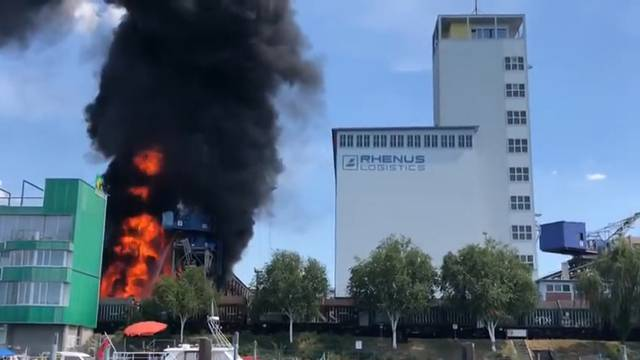 Grossbrand in Basel