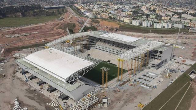Das Fuball-WM-Stadion in São Paulo (Archiv)