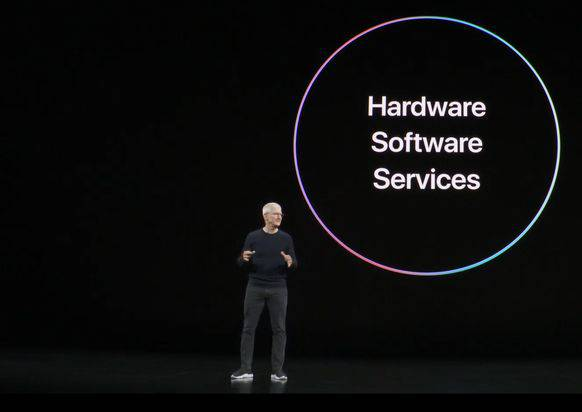 CEO Tim Cook führte durch das Programm. (Screenshot/Youtube)