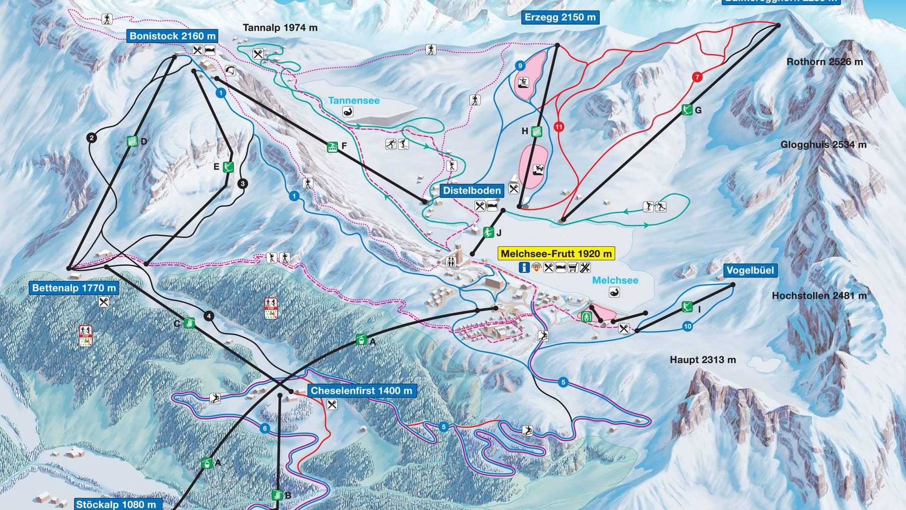 Skifahrerin auf Melchsee-Frutt verunglückt