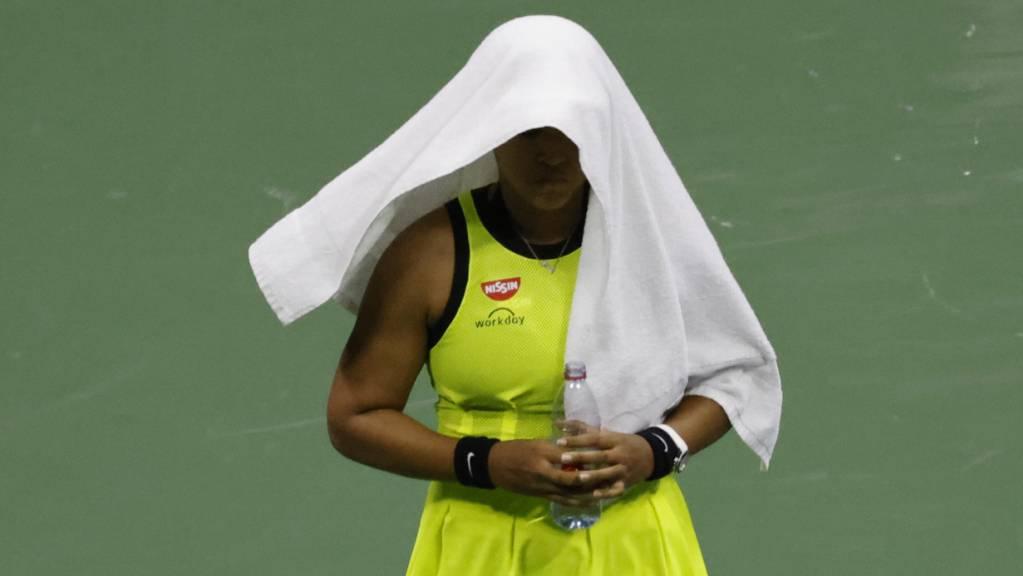 Naomi Osaka zieht sich bis auf Weiteres von der Tennis-Tour zurück