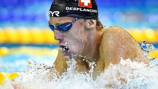 Jérémy Desplanches schwimmt auf Rekordkurs.