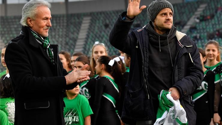 Tranquillo Barnetta: Die Rückkehr des erfolgreichsten Fussballers, den der FC St. Gallen je ausgebildet hat.