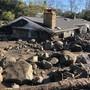 Eine Schlamm- und Gerölllawine zerstörte im kalifornischen Montecito über 100 Gebäude.