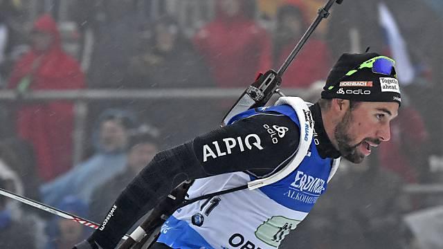 Benjamin Weger auf dem Weg zu einem Top-Resultat.