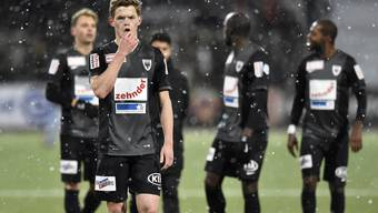 Für Marco Thaler und den FC Aarau gab es in Neuenburg nichts zu holen.