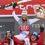 Corinne Suter und die Schweizer Skifahrer hatten 2020 viel zu Grund zum Jubeln