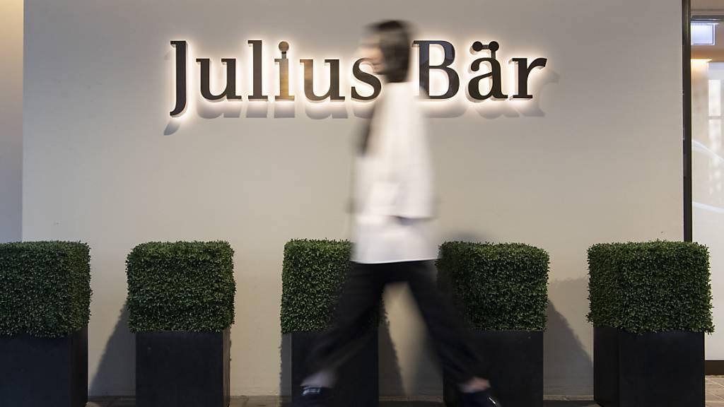 Julius Bär bildet Rückstellung für Einigung