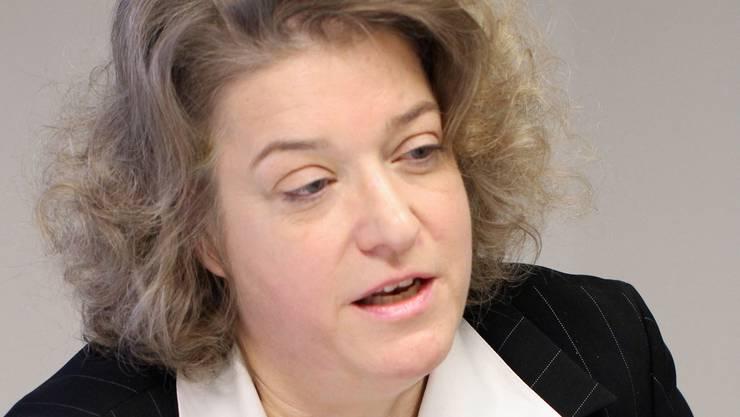 «Das ist absurd»: Die Erste Staatsanwältin Angela Weirich.ZVG/Lutz
