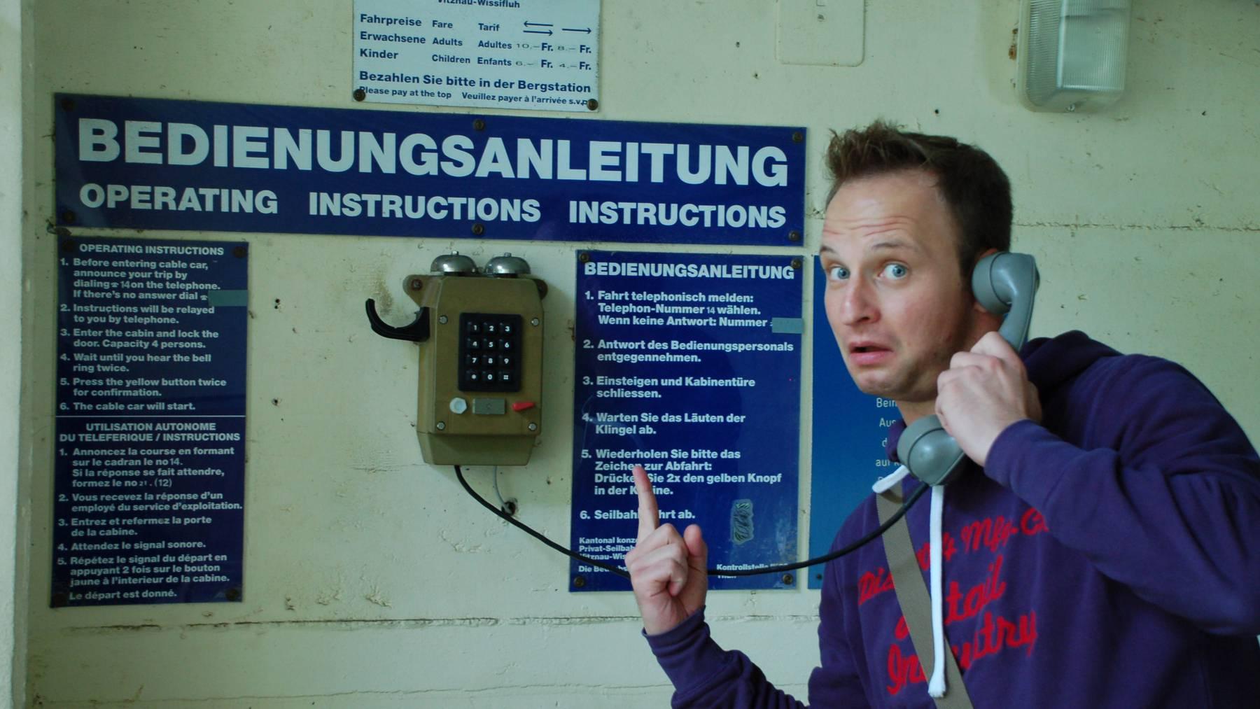 Morgenshow-Crew am «Tatort»-Drehort Wissifluh