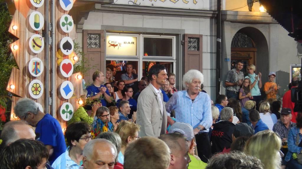 Donnerstag: Donnstig-Jass live aus Küssnacht SZ