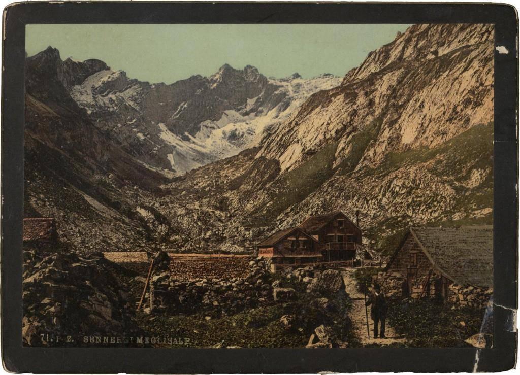 Berggasthaus Meglisalp – früher und heute