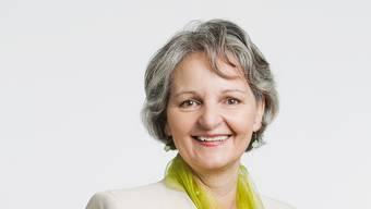 Die neue höchste Aargauerin: Renata Siegrist-Bachmann (GLP) aus Zofingen.